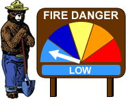Chandler Burning Index: LOW